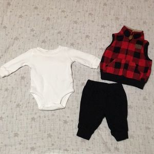 3-Piece Matching Outfit Set